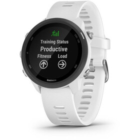 Garmin Forerunner 245 Music Montre GPS connectée, white/black